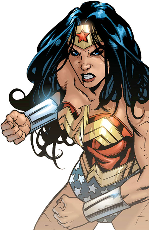 Wonder Woman (DC Comics) (Gail Simone era) ready to throw down