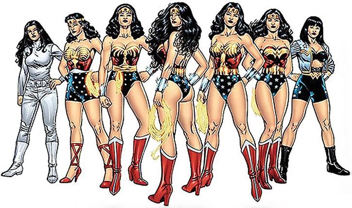 Wonder Woman costumes gallery