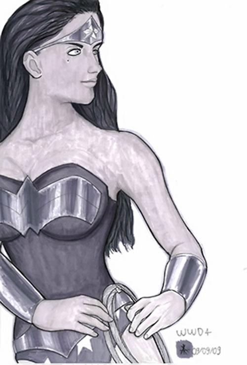 Wonder Woman (DC Comics) - Wonder Woman Day 2009 art