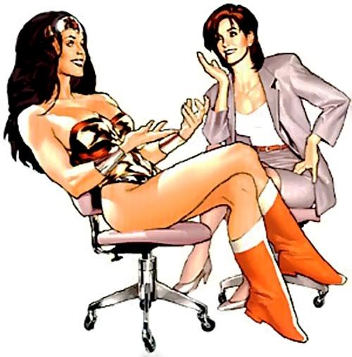 Wonder Woman (DC Comics) and Lois Lane