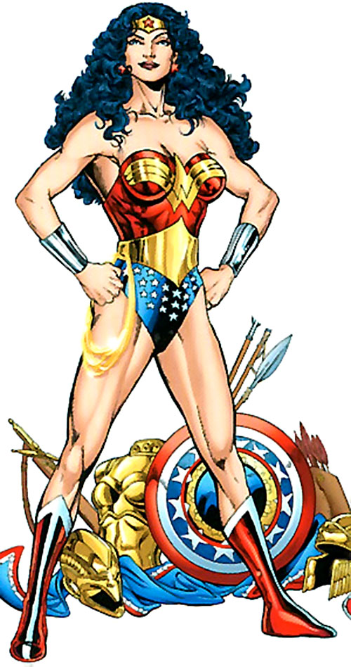 Wonder Woman (DC Comics) and pieces of Amazon armor