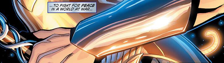Wonder Woman's bracers