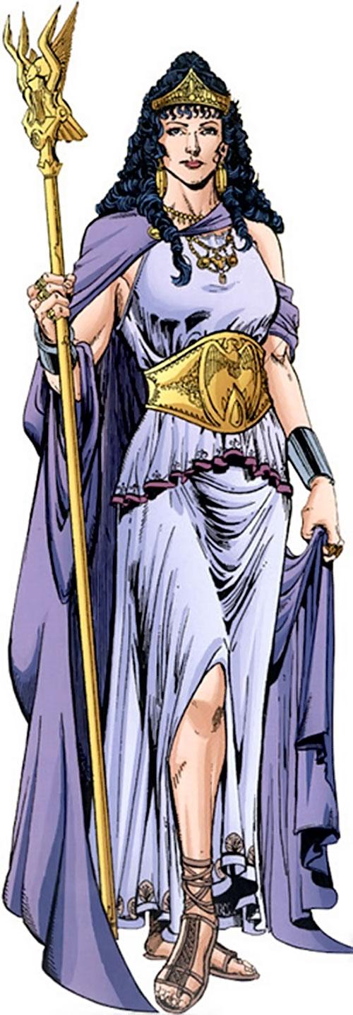 Queen Hippolyta (DC Comics) in royal garb by Jimenez