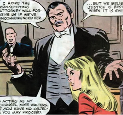 The Word (Marvel Comics) and Ultima in court