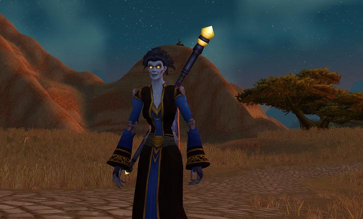World of Warcraft - Forsaken Shadow Priest in the Barrens