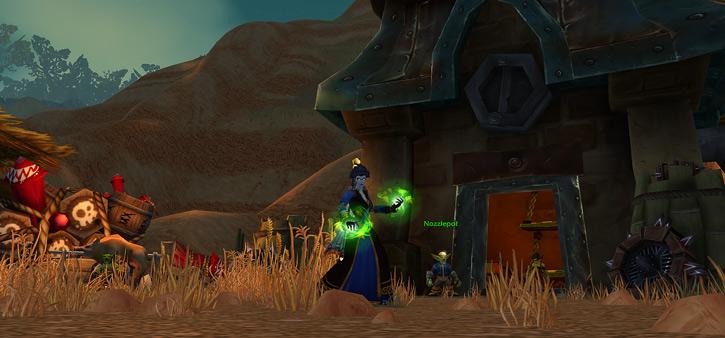World of Warcraft - Forsaken Shadow Priest and goblin inn