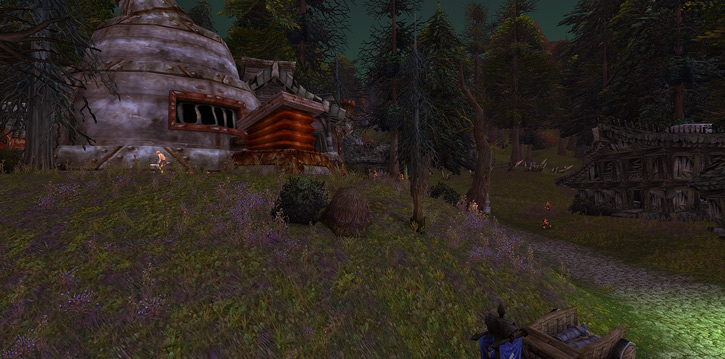 World of Warcraft - Death Knell in Tirisfal Glade