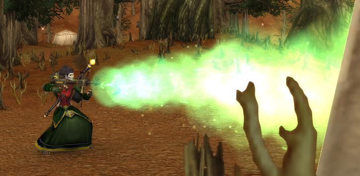 World of Warcraft - Forsaken Shadow Priest with toxic liquid sprayer