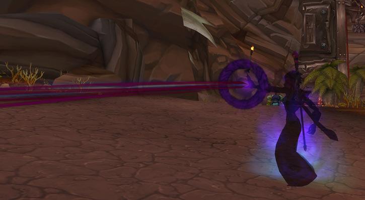 World of Warcraft - Forsaken Shadow Priest face melting