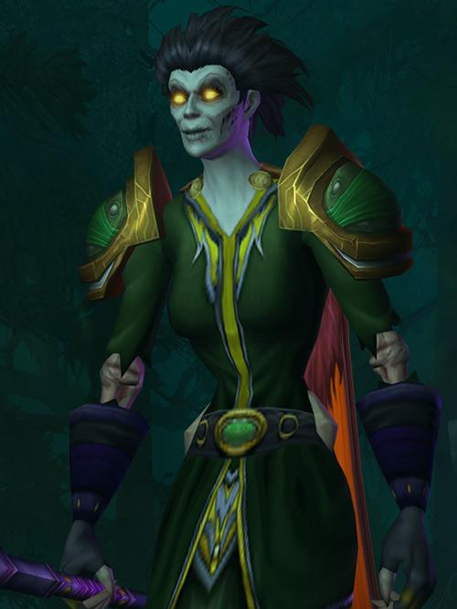 World of Warcraft - Forsaken Shadow Priest - Delamorte