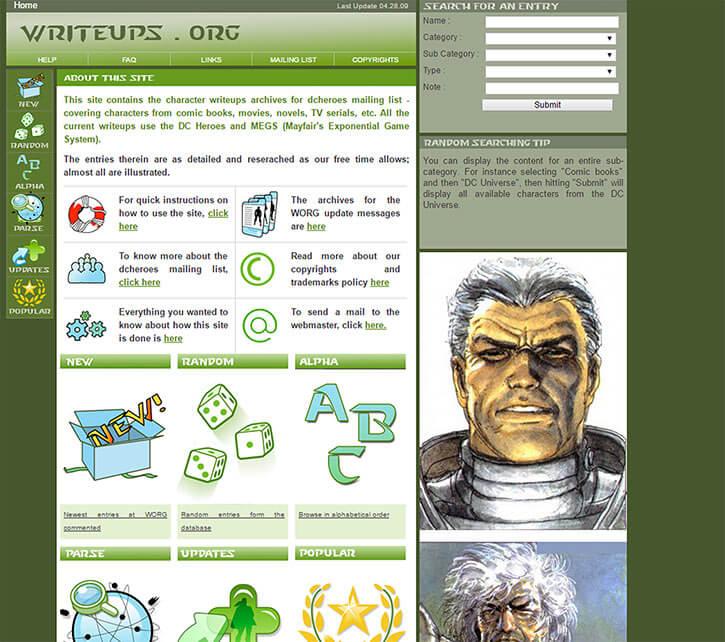 Writeups.org in 2009