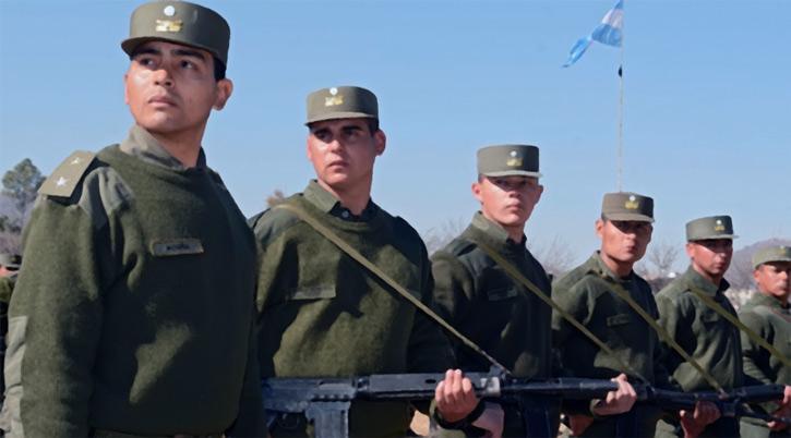 Gendarmes in Argentina