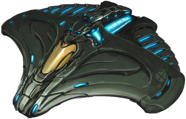 XCOM Firestorm interceptor concept art