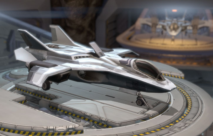 XCom Project - Raven interceptors on turntables