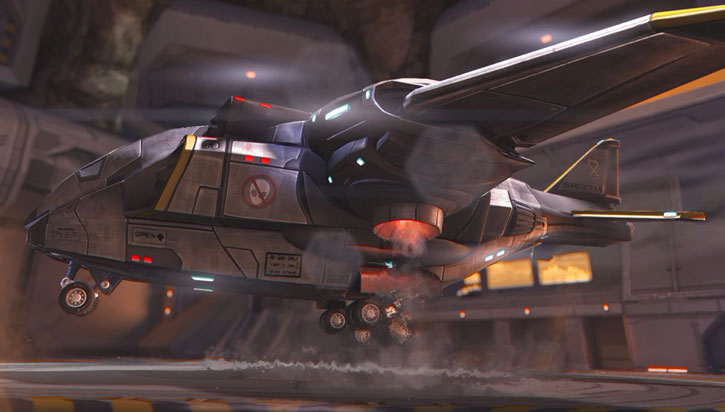 XCom Project - Skyranger landing