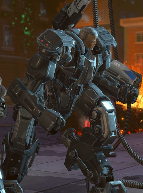 XCom video game - Chilong Zhang MEC cyborg