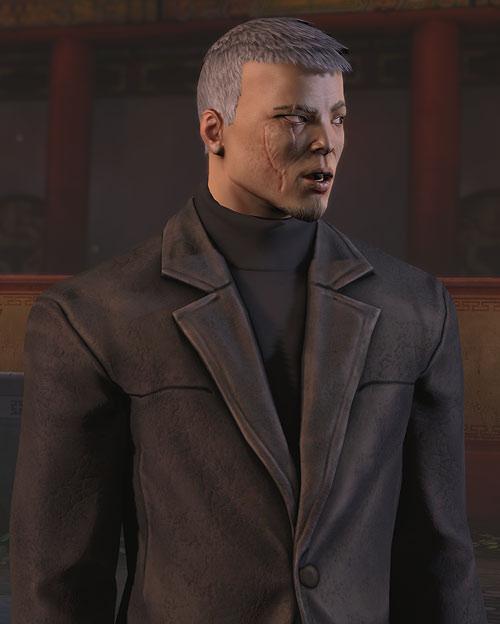 XCom video game - Chilong Zhang leather jacket