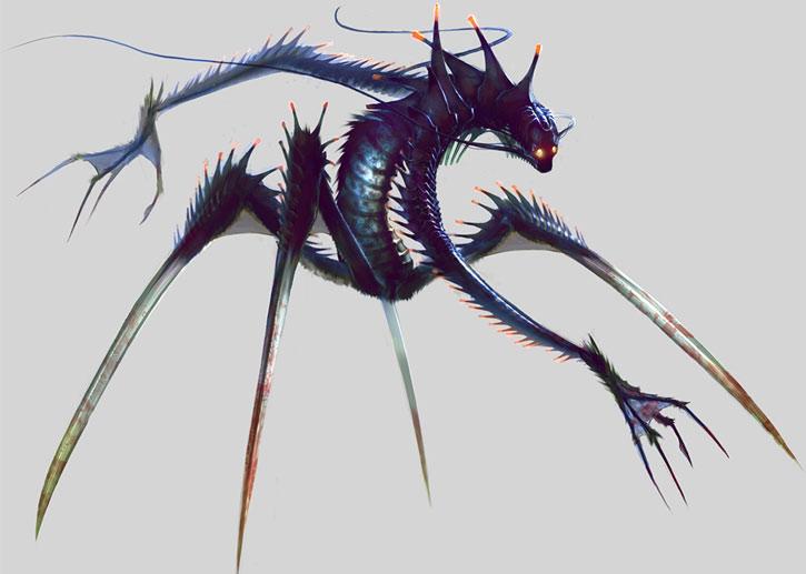 XCom: Enemy Unknown - Chryssalid concept art by Piero MacGowan