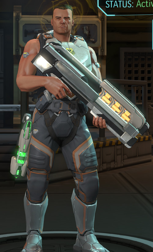 XCom Enemy Within - assault with alloy cannon