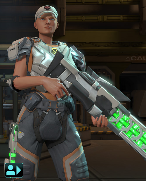 XCom Enemy Within - sniper with plasma