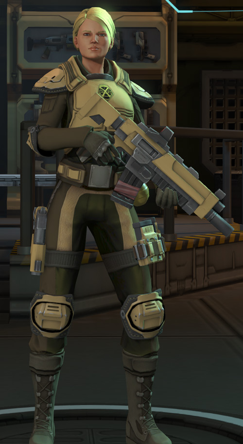 XCom Enemy Within - generic soldier