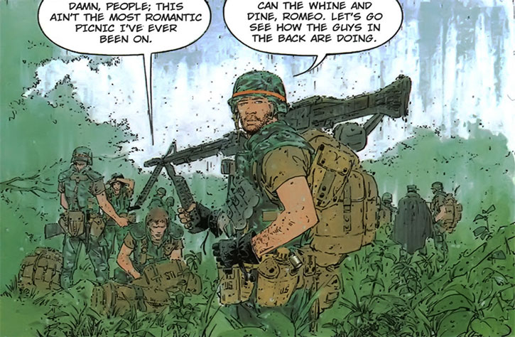 XIII as a soldier