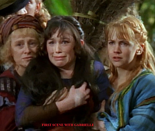 First Xena scene with Gabrielle