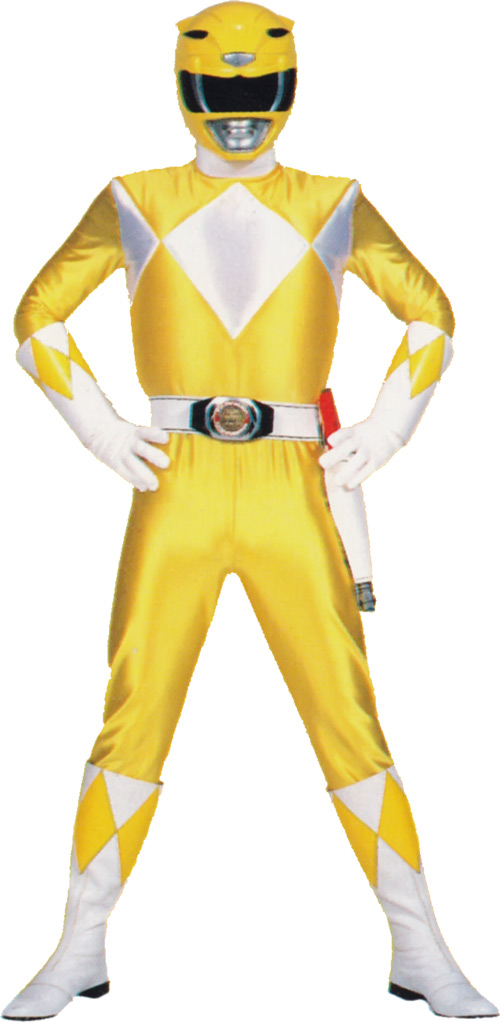 Yellow Ranger (Trini) of the Mighty Morphin Power Rangers
