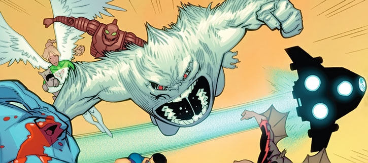 Yeti and the Guardians leap in