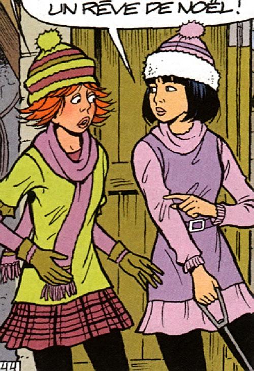 Yoko Tsuno and Emilia