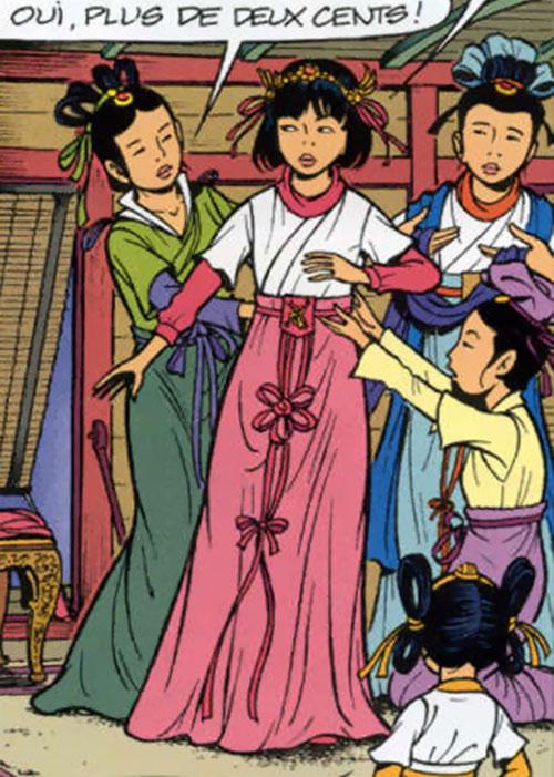 Yoko Tsuno ancient Chinese dress