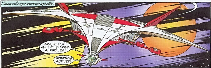 Yoko Tsuno's Ryu space frigate