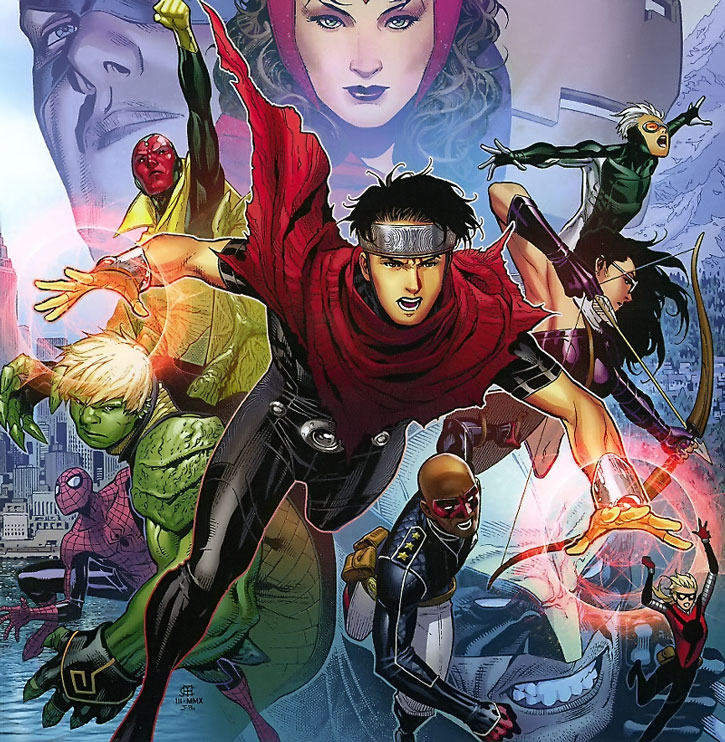Young Avengers group shot