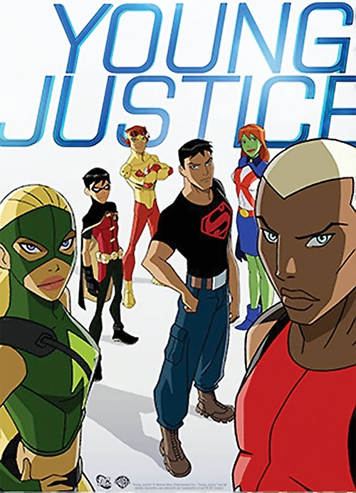 Young Justice cartoon - the team