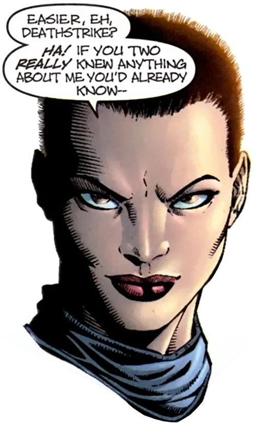 Yukio (Marvel Comics) (Wolverine ally) portrait