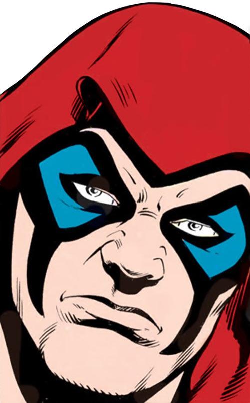 Zartan (G.I. Joe enemy) (Marvel Comics) face closeup