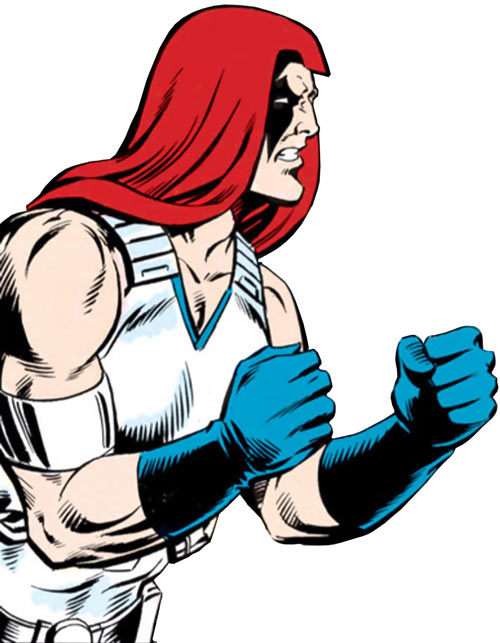 Zartan (G.I. Joe enemy) (Marvel Comics) clenched fists