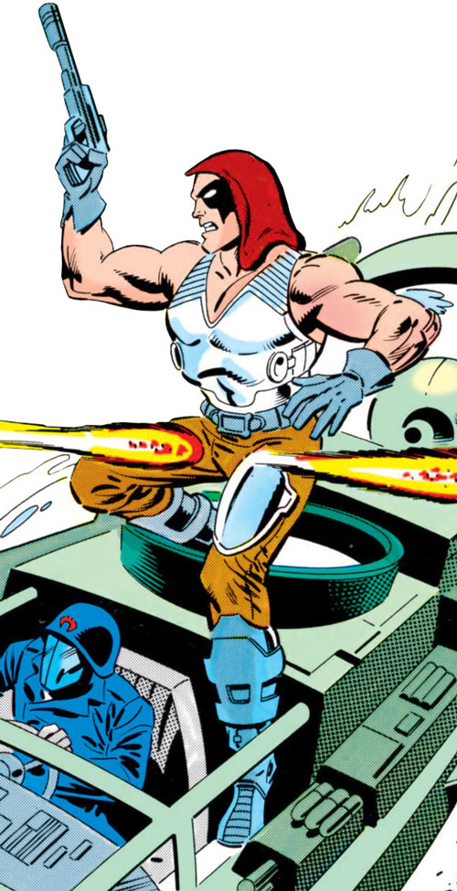 Zartan (G.I. Joe enemy) (Marvel Comics)
