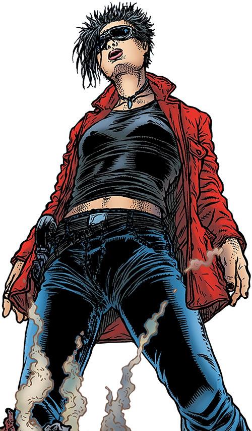 Zoe Jump (Black Summer Avatar Comics)