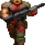 Generic Doom zombie soldier