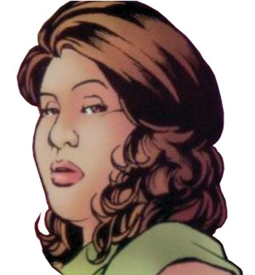 Didi (Zsa Zsa Zaturnnah) comic book version