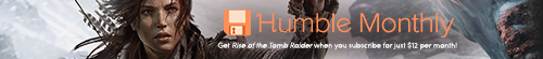 Humble Bundle Rise Tomb Raider