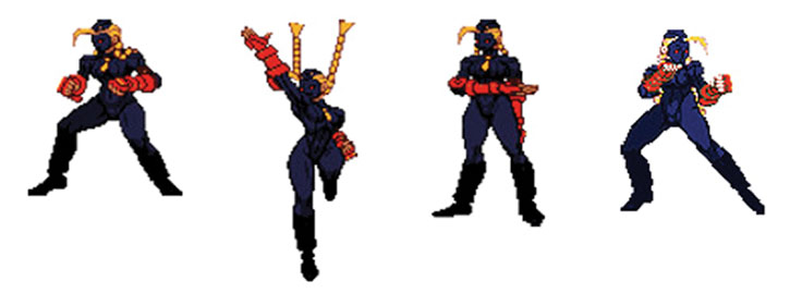 Decapre's Street Fighter sprites