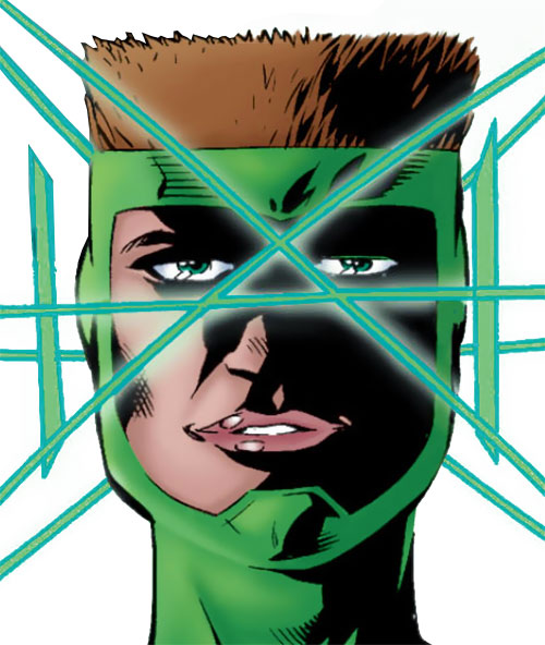 4-D of the Ultramarines (JLA characters) (DC Comics) face closeup