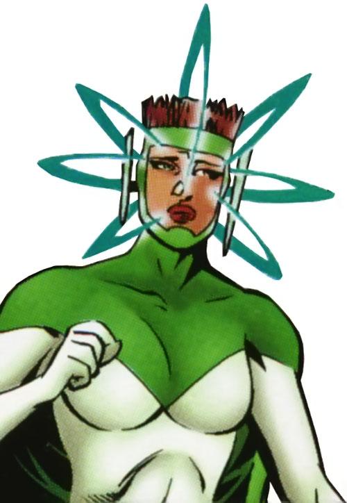 4-D of the Ultramarines (JLA characters) (DC Comics)