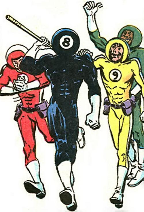 8-ball (Marvel Comics) and his gang