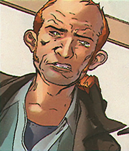 8-ball (Marvel Comics) without his mask