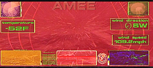 AMEE (Red Planet robot) vision modes 3/5