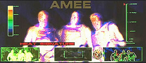 AMEE (Red Planet robot) vision modes 4/5