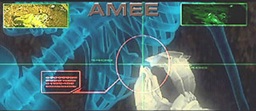 AMEE (Red Planet robot) vision modes 5/5